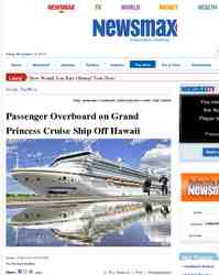 Passenger Overboard on Grand Princess Cruise Ship Off: Newsmax